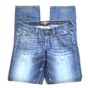 《Lucky Brand》Zoe Straight Leg Sz 6 - 28 Medium